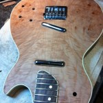 Thru Body Guitar pickups in
